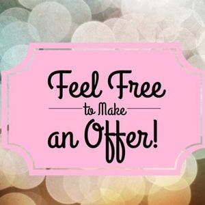Reasonable offers welcomed & Accepted 🥳